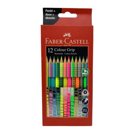 Faber-Castell-12er-Colour-Grip