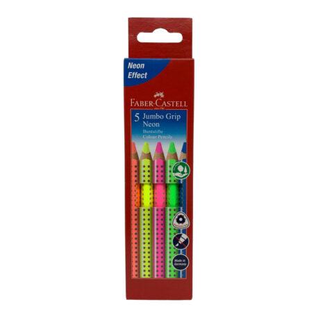 Faber-Castell-Buntstifte-Jumbo-Grip-Neon