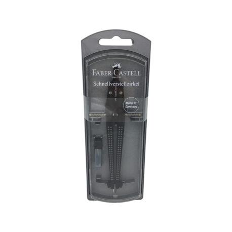 Grip-Schnellverstellzirkel,-schwarz—Faber-Castell