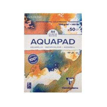 CLAIREFONTAINE Goldline Aquapad Aquarellblock