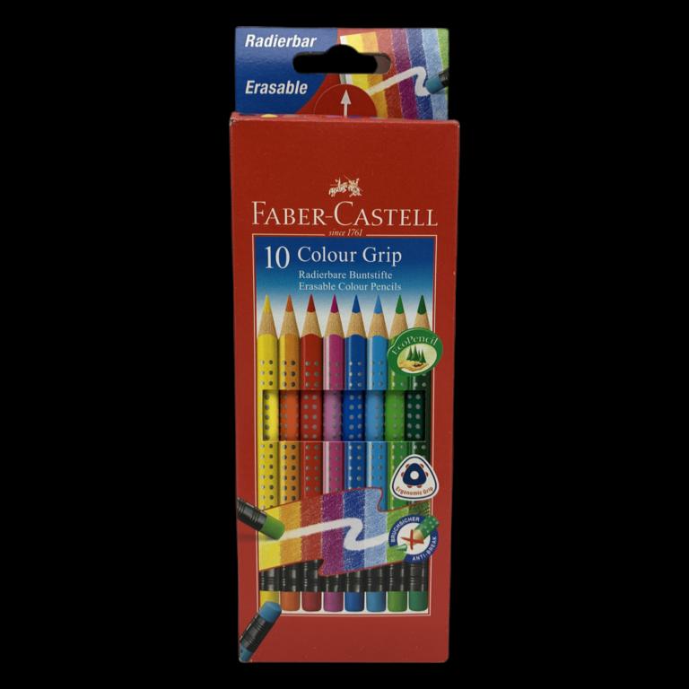 Faber-Castell 10er Colour Grip