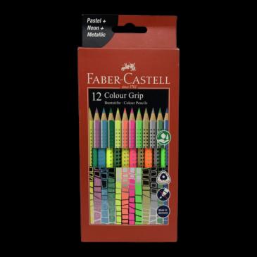 Faber Castell Colour Grip Sonderfarbset 12er