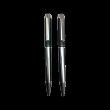 Pelikan Kugelschreiber Pura K40 Anthrazit/Deep Green